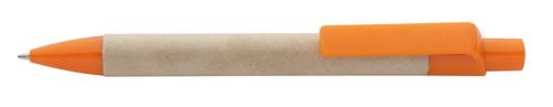 Reflat kuličkové pero z recykolovaného papíru