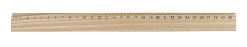 ThreeO dřevěné pravítko