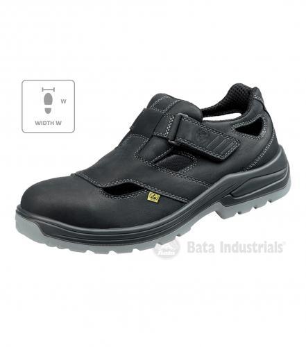 Helsinki W sandále unisex černá 37
