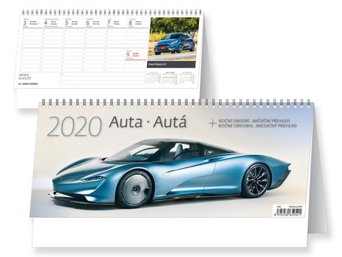MOTORKY - stolní kalendář 22,6x17,2 cm