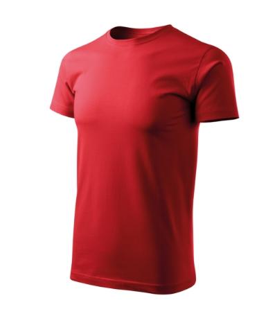 Basic Free tričko pánské červená L