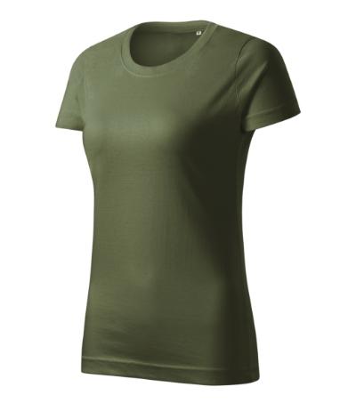 Basic Free tričko dámské khaki L