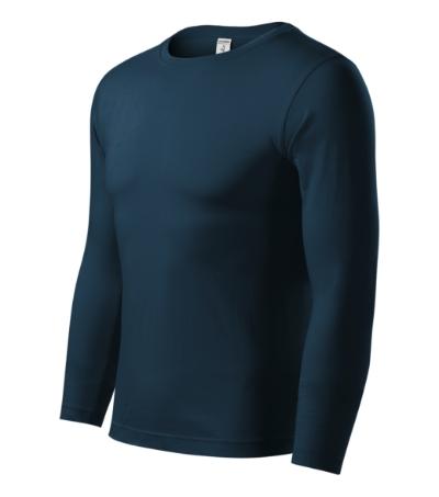 Progress LS triko unisex námořní modrá M