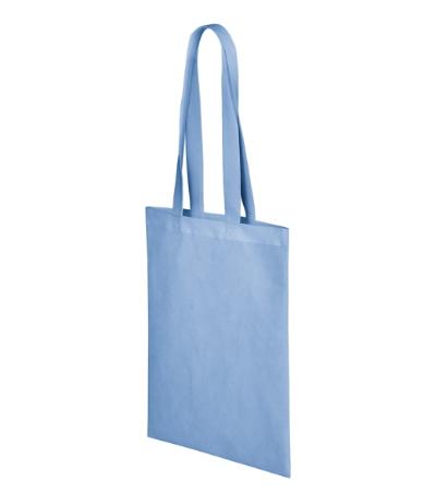 Bubble nákupní taška unisex nebesky modrá uni