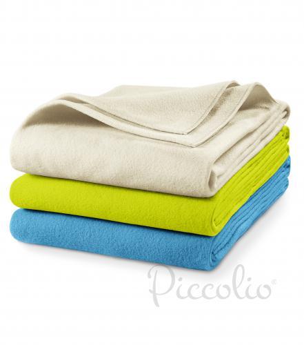 Blanky fleecová deka unisex lahvově zelená uni