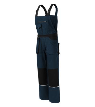 Woody pracovní kalhoty s laclem pánské námořní mod