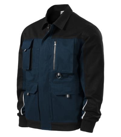 Woody pracovní bunda pánská námořní modrá L