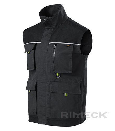 Ranger pracovní vesta pánská ebony gray M