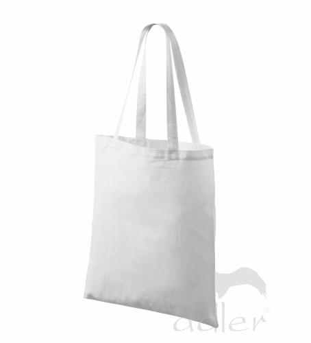 Bavlněné tašky 38 x 42 cm - bílé, dlouhé ucho