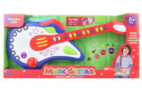 Kytara na baterie