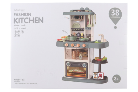 Kuchyňka na vodu a baterie 72 cm