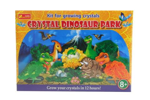 Krystalový dinosauří park