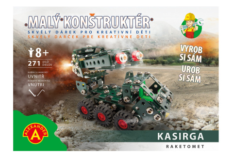 Malý konstruktér-KASIRGA RAKETOMET 271 dílků TV 1.10.-31.12