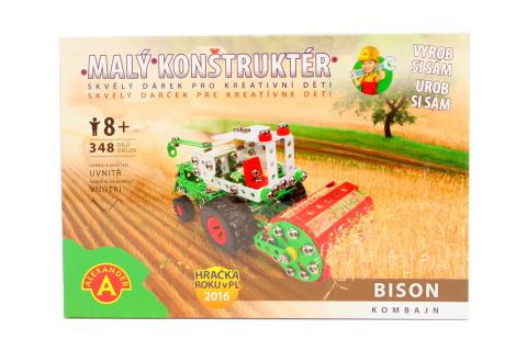 Malý konstruktér - BISON KOMBAJN 348 dílků