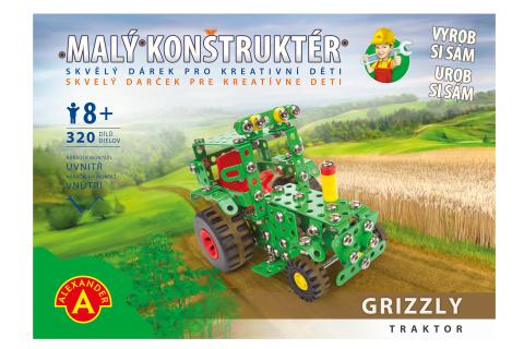 Malý konstruktér - GRIZZLY TRAKTOR 320 dílků