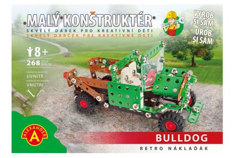 Malý konstruktér - RETRO NÁKLAĎÁK 268 dílků