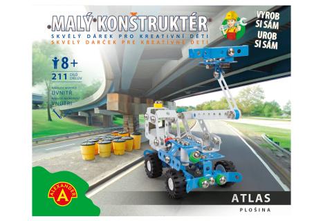 Malý konstruktér - ATLAS PLOŠINA 211 dílků