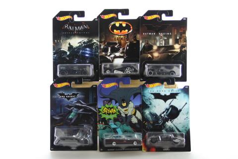 Hot Wheels Tématické auto - DC Batman DFK69