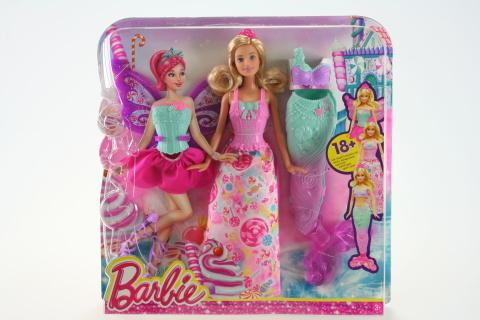 Barbie Víla a pohádkové oblečky DHC39