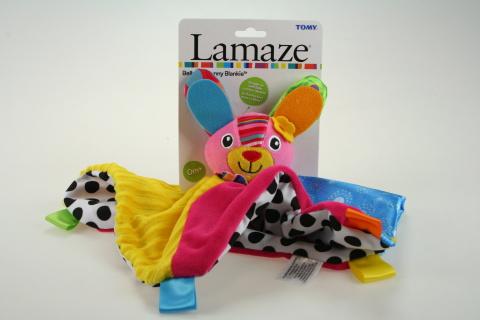 Lamaze Mazlící dečka zajíček