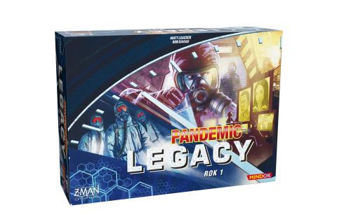 Pandemic Legacy: Rok 1 Modrý