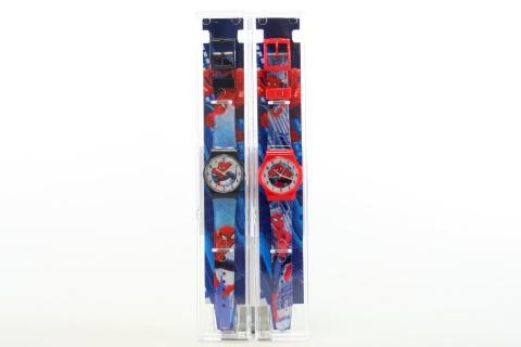 Náramkové hodinky v pouzdře Spiderman