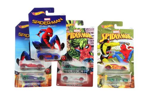 HW Tématické auto - Marvel Spiderman DWD14