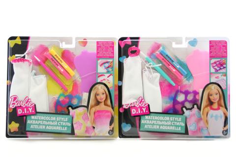 Barbie D.I.Y akvarelové návrhářství DWK52