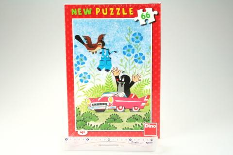 Puzzle  66 Krtek a autíčko