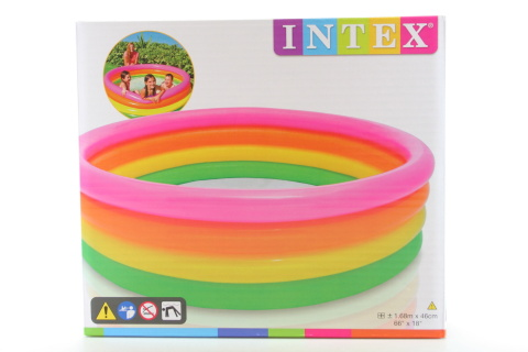 INTEX Bazén barevný 56441 168x46cm