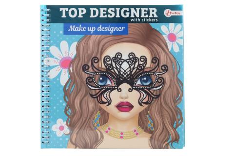 Módní návrhářka se samolepkami - Make Up