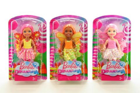 Barbie Víla Chelsea DVM87