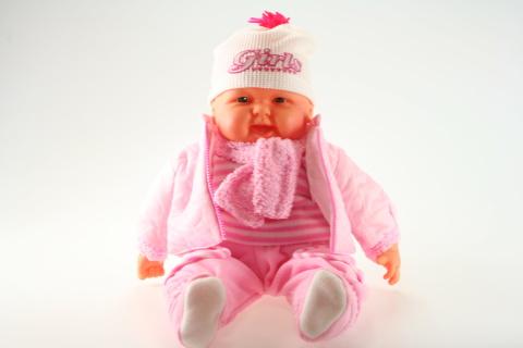 Miminko velké - holka - růžová