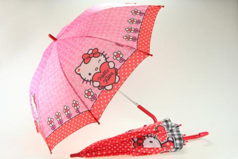 Deštník Hello Kitty vystřelovací