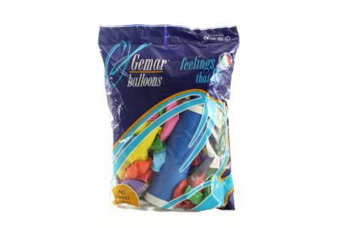 Balonky s potiskem 100 ks + pumpa