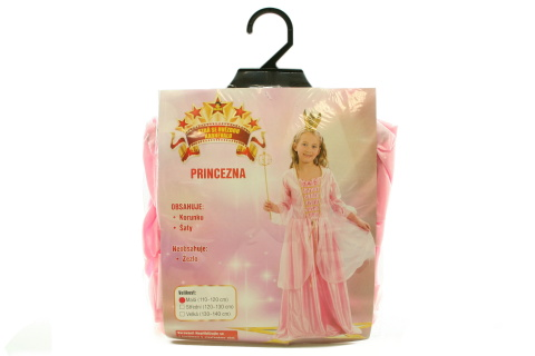 Šaty S Princezna 110- 120 cm