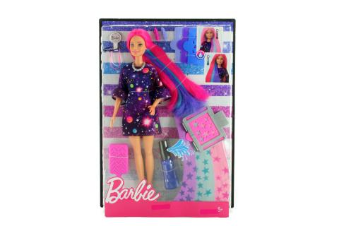 Barbie Barbie s žužu vlasy běloška FHX00