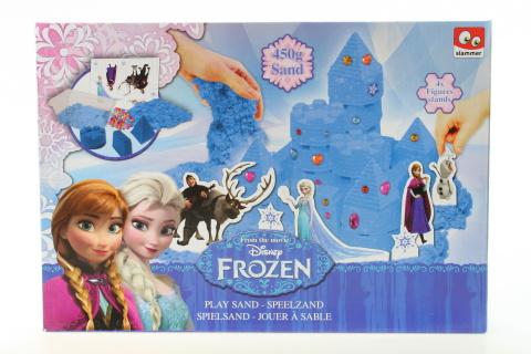 Frozen hrad z písku