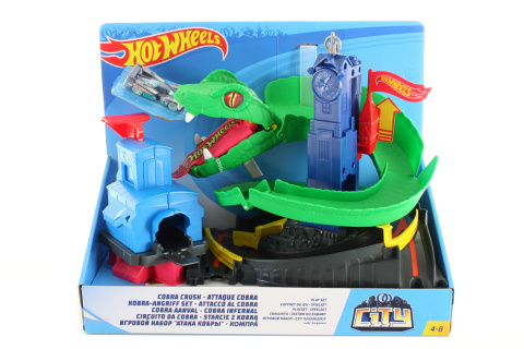 Hot Wheels City zatoč s kobrou 20 TV 1.4.-30.6.2018