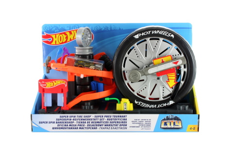 Hot Wheels City deluxe set FNB15 TV 1.4.-30.6.2018