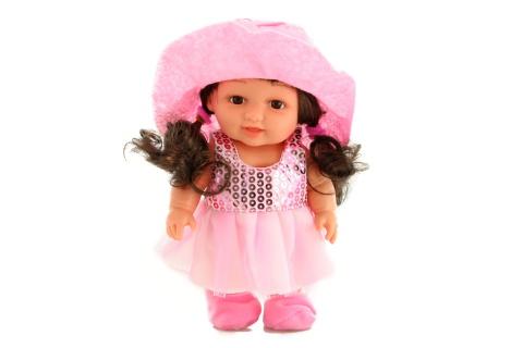 Panenka malá s kloboukem