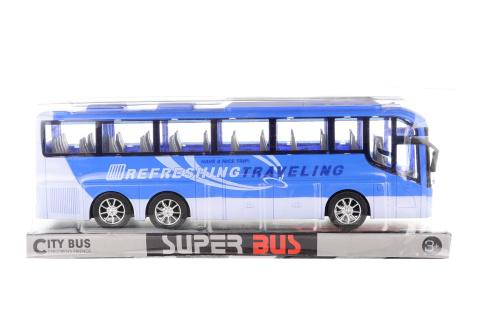 Autobus  setrvačník modrý