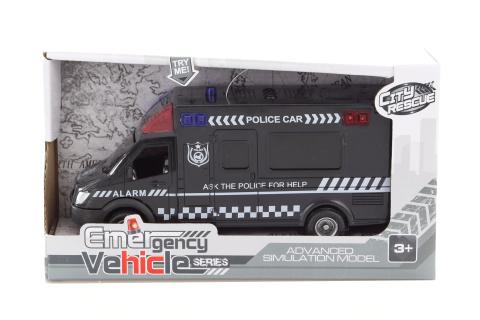 Auto policie se zvukem a světlem
