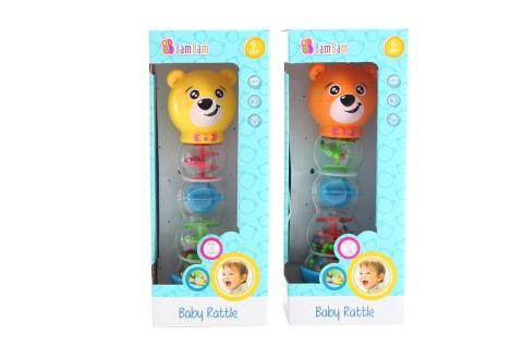 BAM BAM Chrastítko medvídek