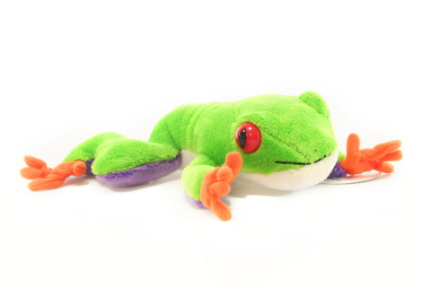 Plyš Žába