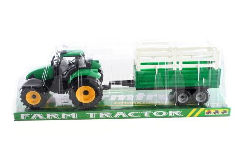Traktor s vlekem