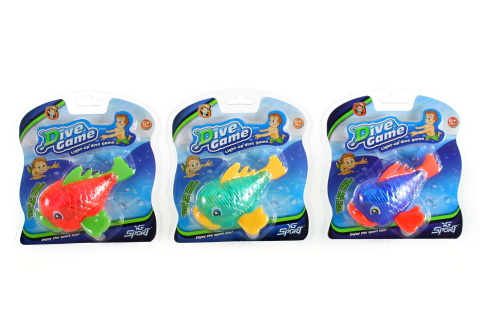 Ryba na potápění se světlem