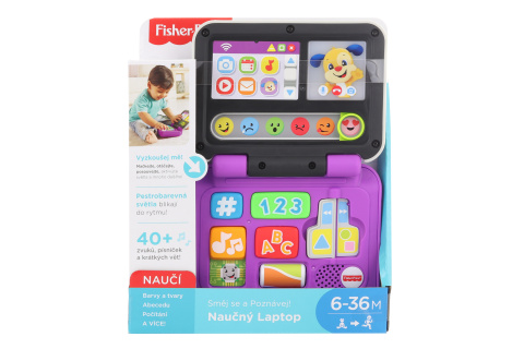 Fisher Price Naučný laptop CZ FXK46