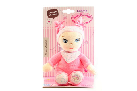 Baby Annabell Newborn Mini Soft TV 1.2.-30.3.2017