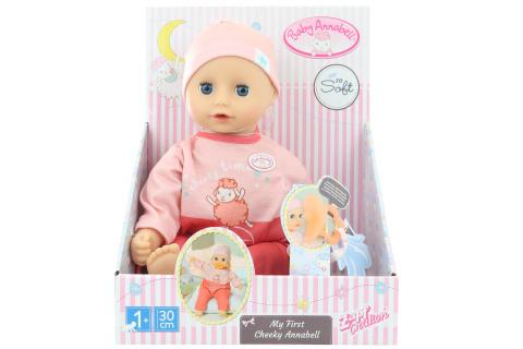 Baby Annabell MyFirst Rozpustilá Annabell, 30 cm  TV 1.4. - 30.6